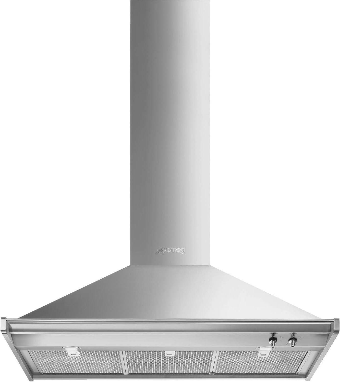 Smeg KD100HXE Opera - Campana para chimenea (100 cm, acero inoxidable): Amazon.es: Hogar