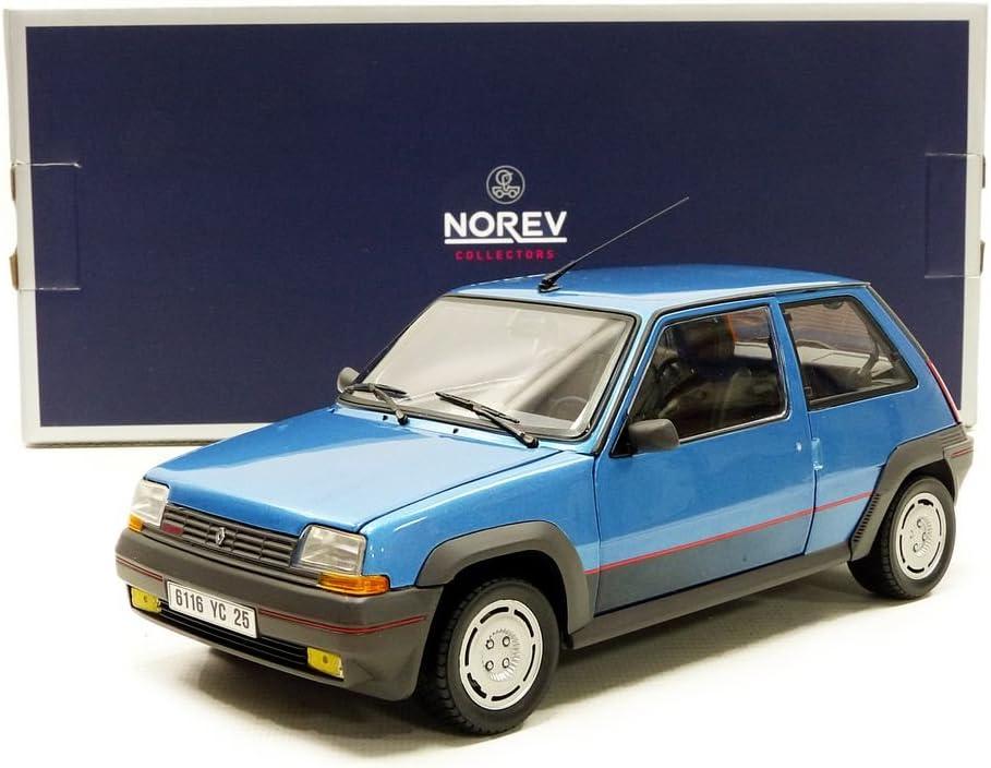 Norev/ /5/GT Turbo Fase 1/1986/Renault Veicolo in Miniatura Blu Metallo 185207 Scala 1//18