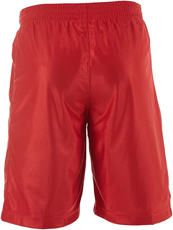 Nike Men's Dri Fit Zone Basketball Shorts, Red, Small, 480400 650