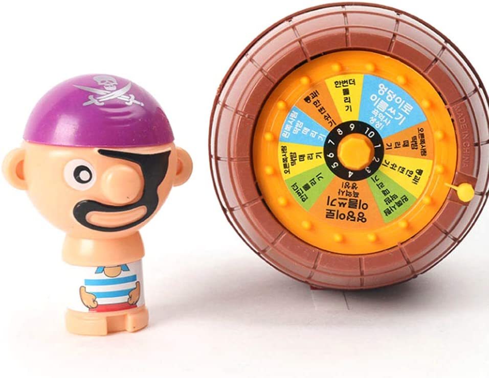Fun Big Pirate Barrel Roulette Toy Hit or Miss Luck Game for Kids and Adults