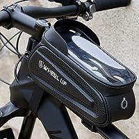 Goodjobb Bolsa de Guiador para Bicicleta Sombra à Prova de Água Suporte para Celular Suporte de Bolsa Bolsa Reflexiva…