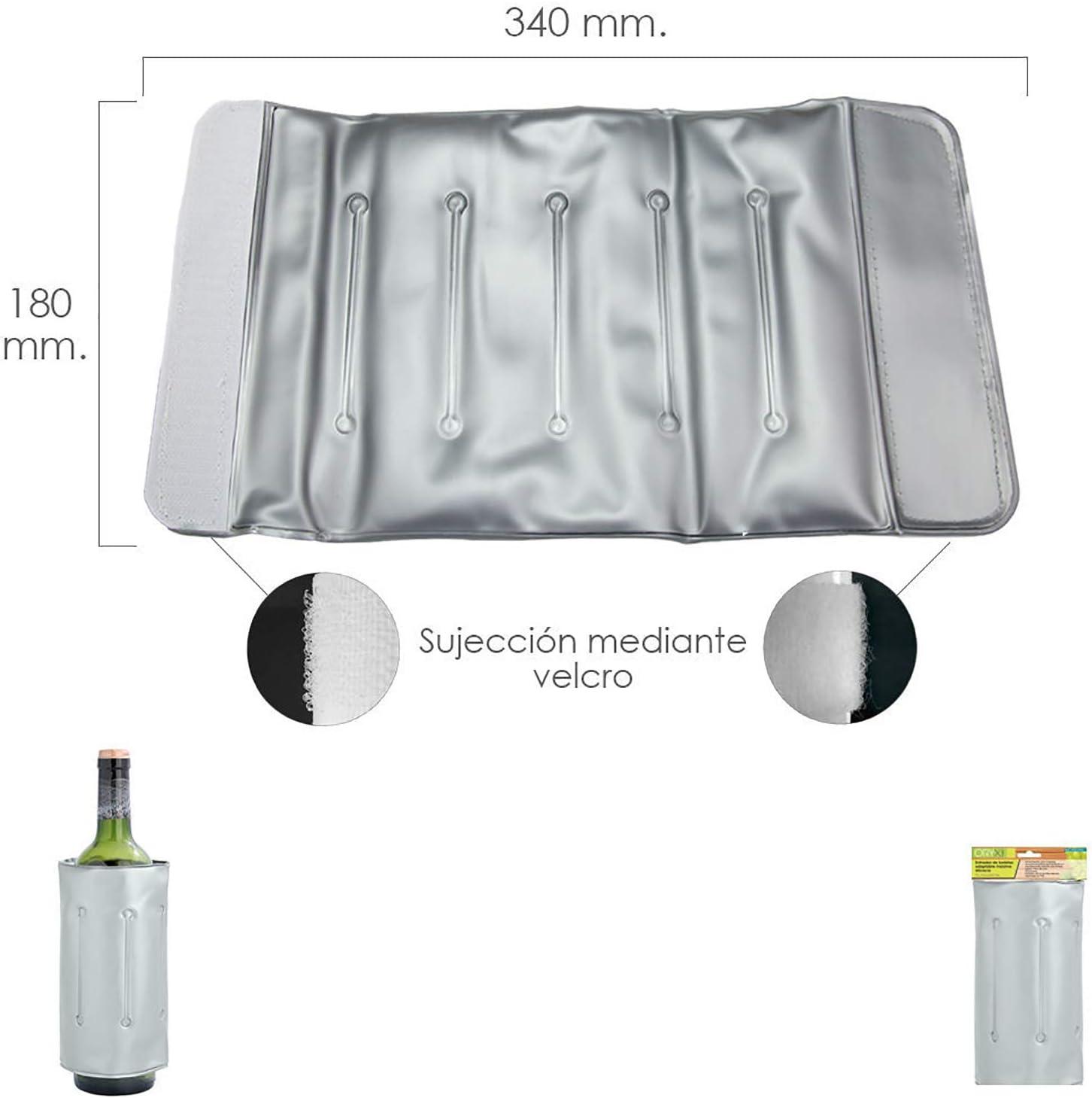ORYX 5057050 Enfriador De Botellas Adaptable Maxima Eficacia, Plateado
