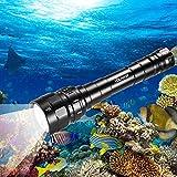Underwater Flashlight, VOLADOR 3 CREE XPL LED
