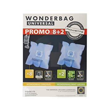 Wonderbag Universal Bolsa para aspirador Rowenta, 10 ...