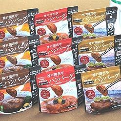 神戸開花亭 煮込み ハンバーグ 9個入り ギフトセット 送料込