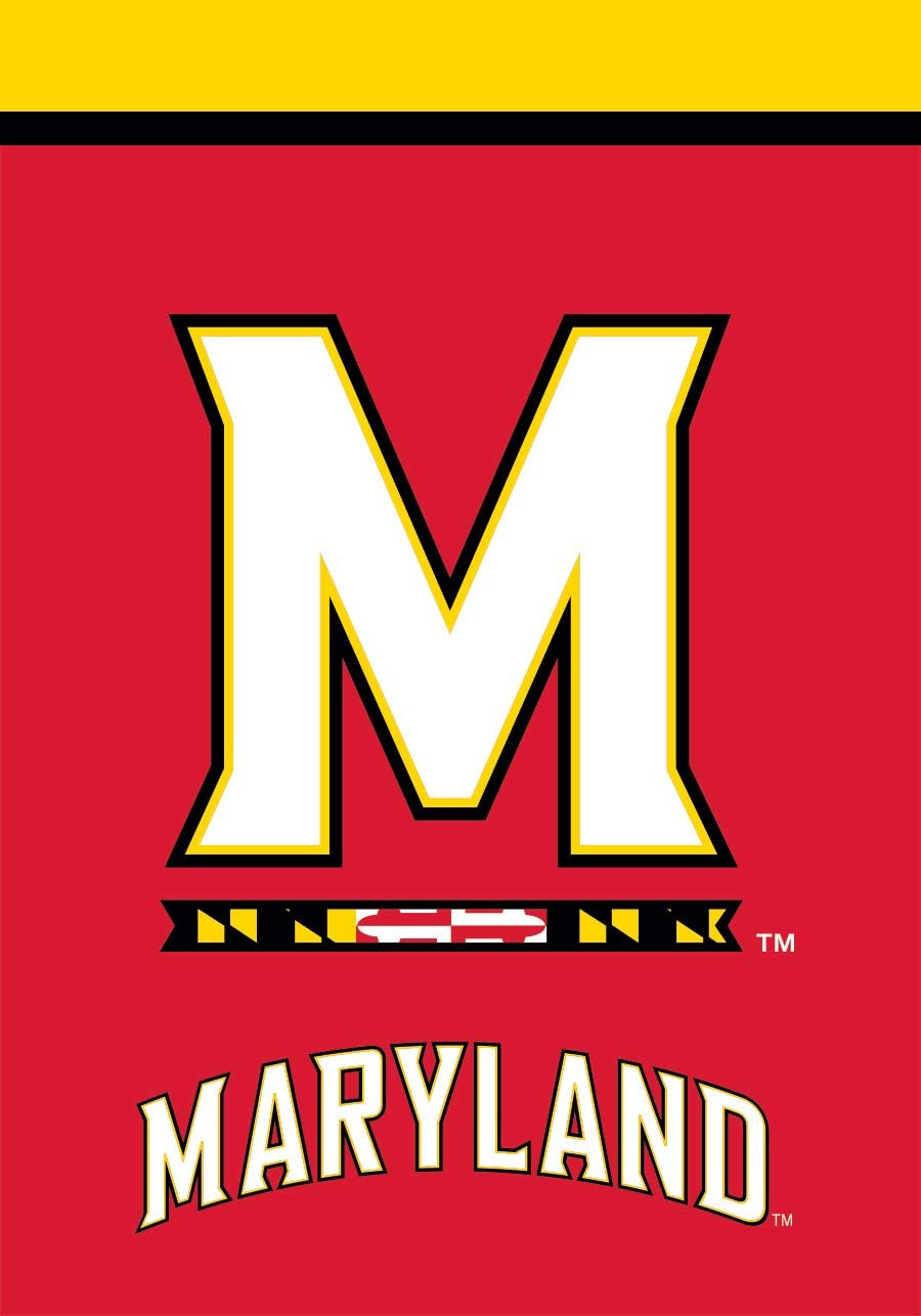 Briarwood Lane Maryland Terrapins Garden Flag NCAA Licensed 12.5