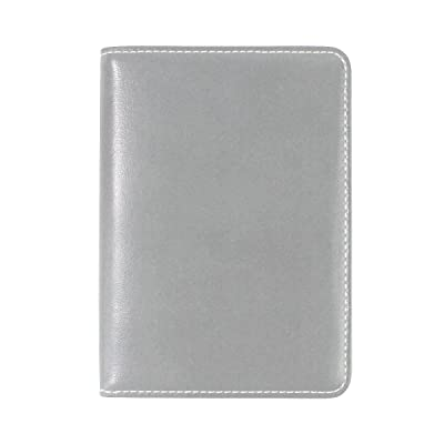 Brisper leather Passport Cover Holder Case Leather Protector for Men Women Kid