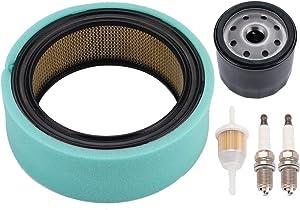 BQBS 47-083-03-S Air Filter for Kohler CH18 CH20 CH22 CH23 CH25 CV17 CV18 CV19 CV20 CV22 CV23 CV25 Lawn Mower with 12-050-01-S Oil Filter Fuel Filter Spark Plug