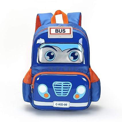 19b8ef5aea Kids Toddler backpack 3D Ploice Cartoon Large School Bag Lightweight  Washable Waterproof Preschool Kindergarten Elementary Bookbags