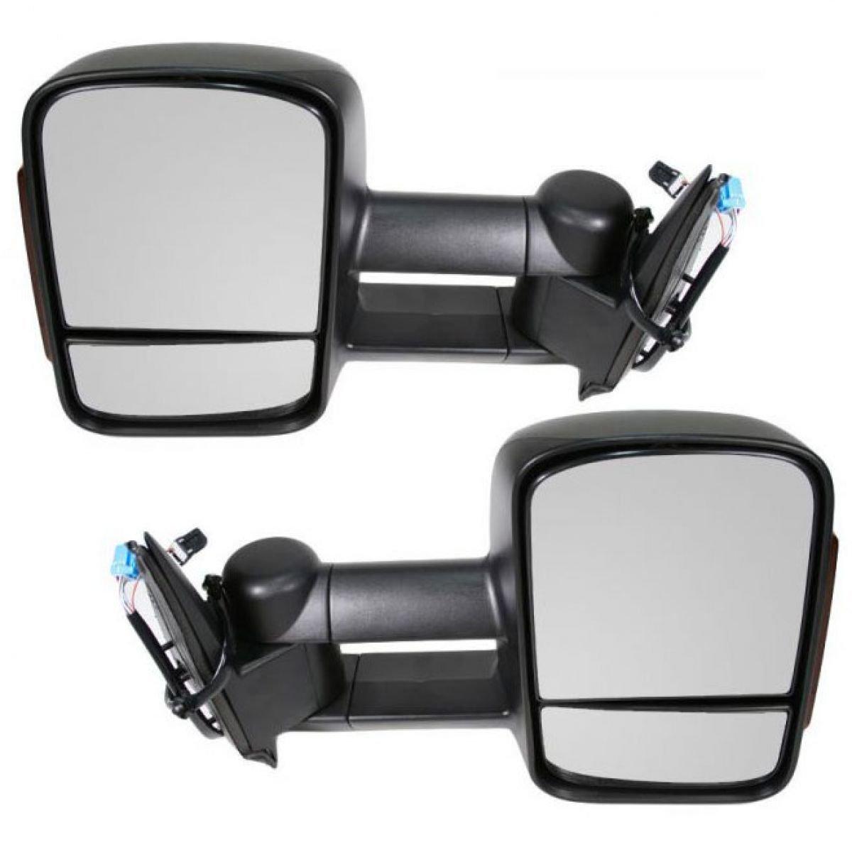 Amazon.com: Towing Mirrors 2003-2007 Chevy/GMC Silverado/Sierra ...