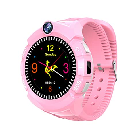 9Tong Smartwatch para Niños GPS Tracker Llamada SOS Anti-perdida Relojes Inteligentes para niños niñas