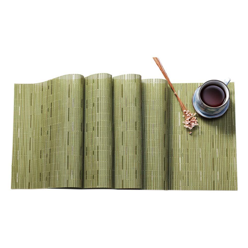 Grigio//135x30cm YOFASEN Runner da Tavolo Tovaglie da Pranzo PVC Squisita Resistente per la Festa di Natale 53.1x11.8 Pollici