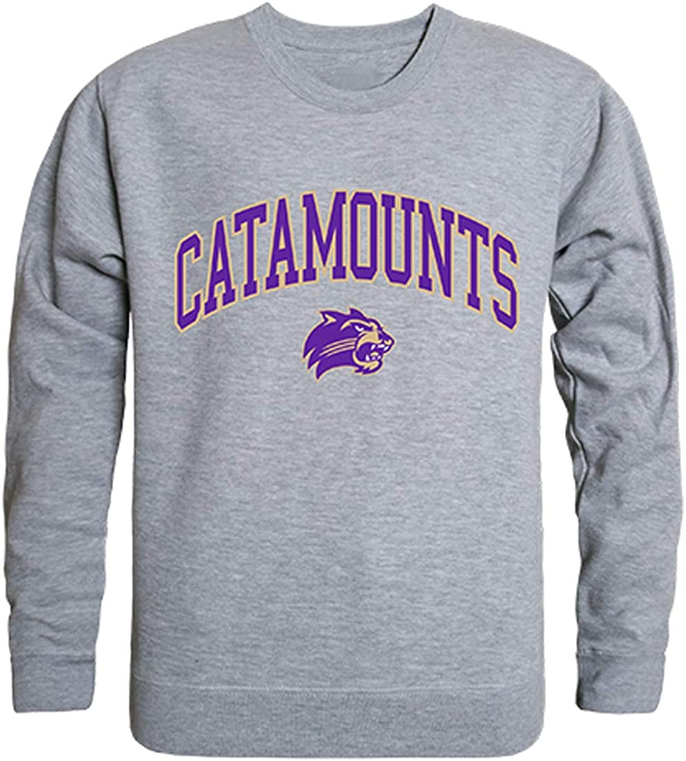 W Republic WCU Western Carolina Catamounts NCAA Mens Campus Crewneck Fleece Sweatshirt