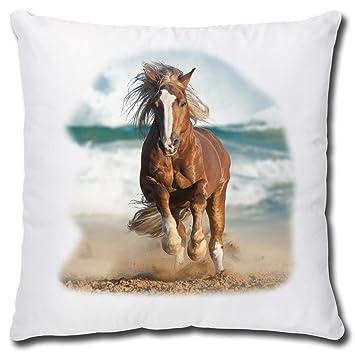 Triosk Pferde Kissen Mit Pferdemotiv Pferd Am Meer Geschenk Fur