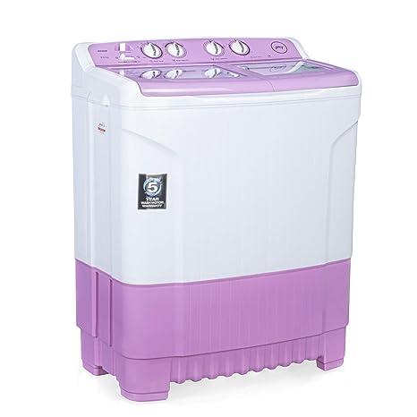 Godrej 8 Kg Semi-Automatic Top Loading Washing Machine (WSEDGE 8.0 TB3 M LVDR, Lavender)