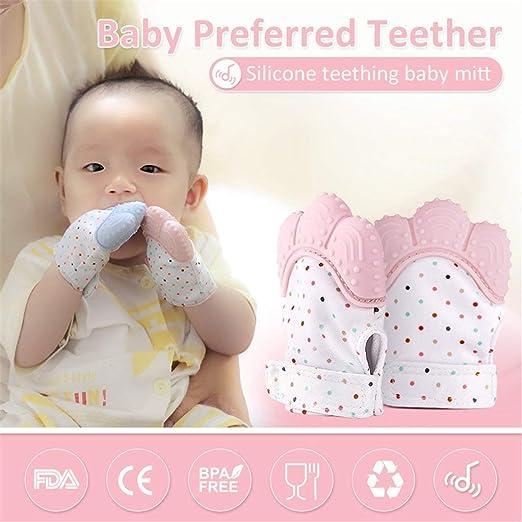 Amazon.com: micowin bebé dentición manopla, la dentición ...