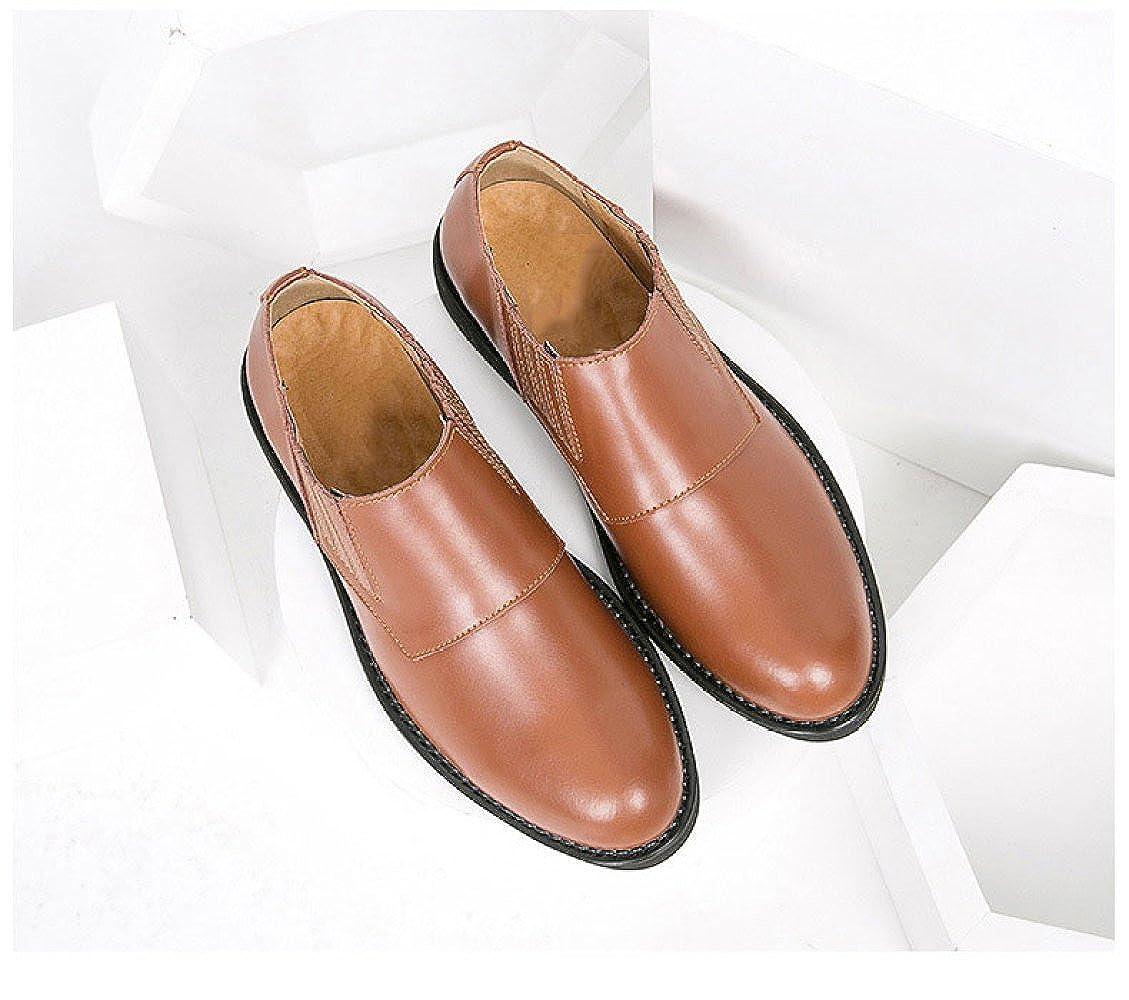 LEDLFIE Casual Herren Lederschuhe Spring Fashion Business Casual LEDLFIE Dress Schuhe 37330d
