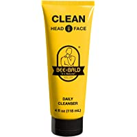Bee Bald Clean Head and Face Wash 120ml shampoo