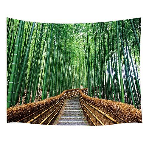 Bamboo Tapestry - JAWO Zen Bamboo Decor Tapestry