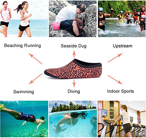 Water Beach CJ Water Mens Quick Shoes White Fashion Womens Swimming Outdoor for Barefoot Sports Shoes Aqua Socks Dry SBwtY