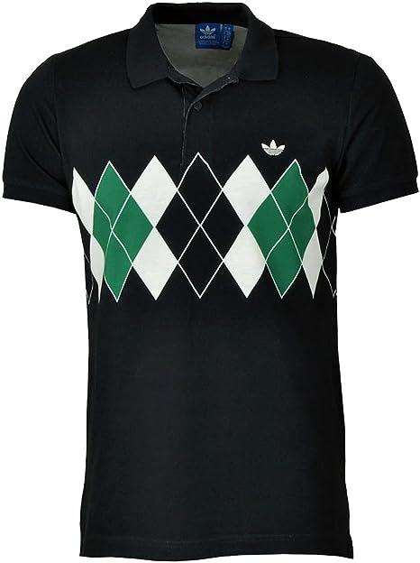 adidas Polo de Camiseta, Marina Argyle X-Large: Amazon.es: Ropa y ...