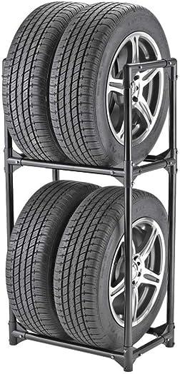 Tire Storage Rack – Two Shelf Wheel Holder BW3510