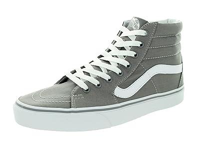 vans grey sk8 hi