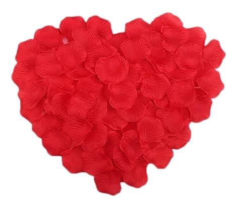 westeng 5 paquetes de 100 pétalos de rosa, rosas ...