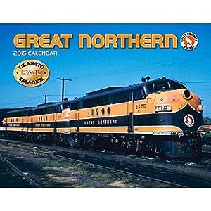 2015 Great Northern Railway Wall Calendar Tide-Mark