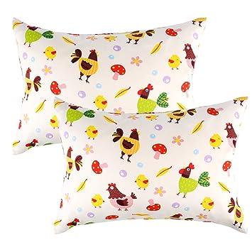 Side Sleeper Pillowcase 100/% cotton Chicken