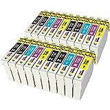 T1281 T1282 T1283 T1284 (T1285) TONER EXPERTE® 20 XL Cartuchos de TInta compatibles para Epson Stylus S22 SX125 SX130 SX235W SX420W SX425W SX435W SX438W SX445W SX445WE Office BX305F BX305FW   Alta Capacidad