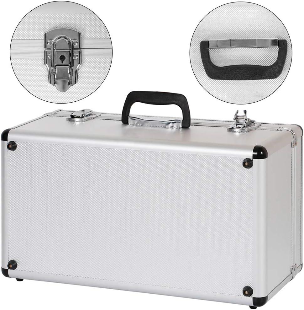 Aluminium 3er Set Boxen Alubox Alukiste Transportbox Aufbewahrung Box Trucky 2 Farben Farbe Silber Baumarkt