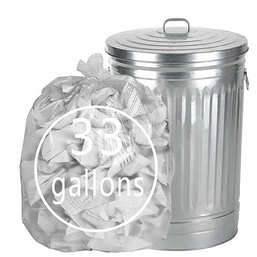 Tstorage 120 L Sacos Basura Bolsas de Basura de Plástico ...