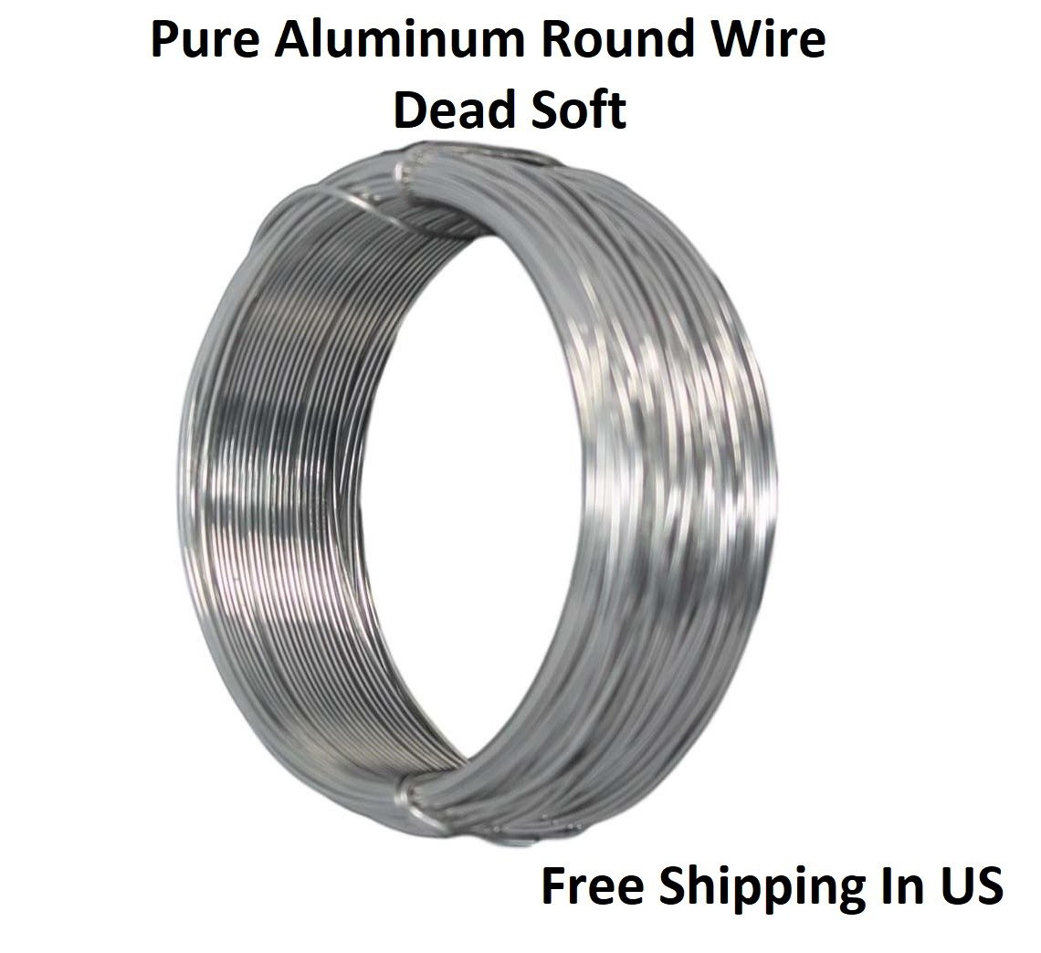 Amazon.com: 16 Ga (.050) Aluminum Round Wire 25 Ft / Coil - Armature ...