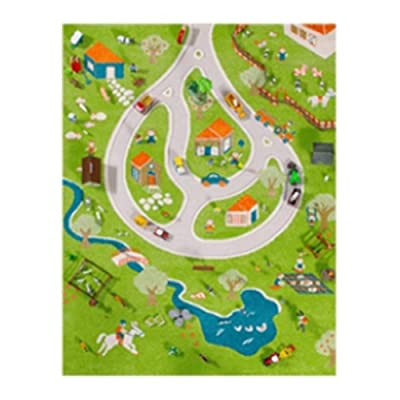 Danawares Ivi 3D Traffic Play Carpet: Toys & Games