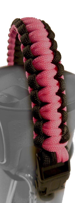 Paracord Griff für Sport/Wasser Flaschen – Befestigen zu fast allem. Mehrere Modische Farben
