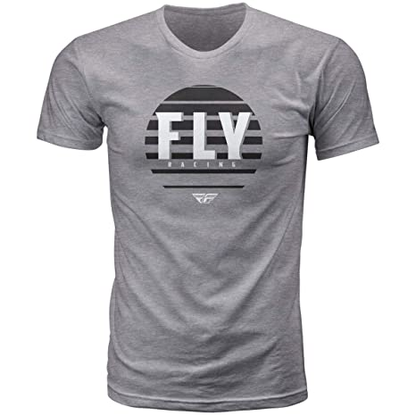 White Large Fly Racing Corporate T-Shirt