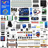 Adeept Ultimate Starter Kit for Arduino UNO R3, LCD1602, Servo Motor, Relay, Processing