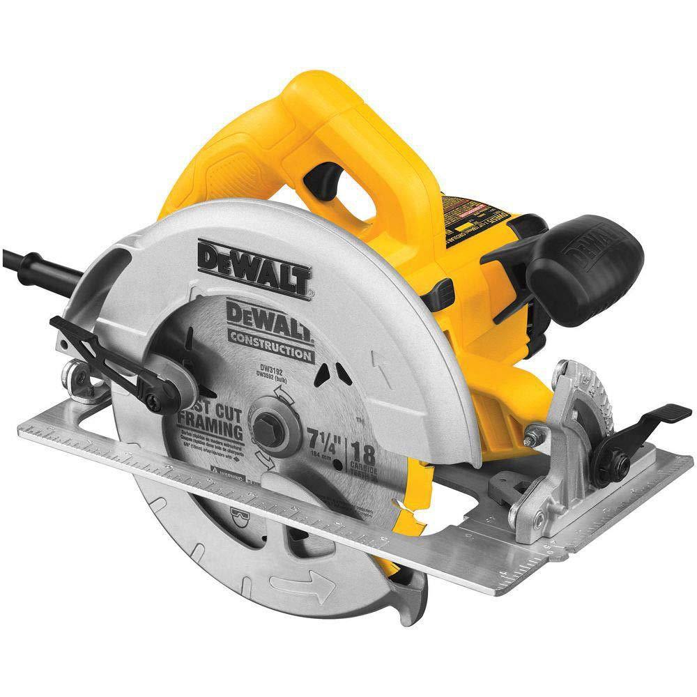 Dewalt DWE575R 7-1/4 in. Next Gen Circular Saw Kit (Certified Refurbished)