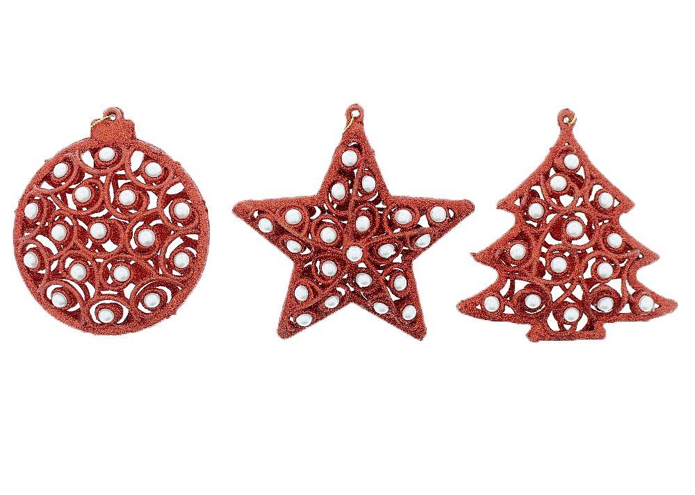Amazon.com: Festive Elegant Shimmering Sparkling Christmas Holiday ...