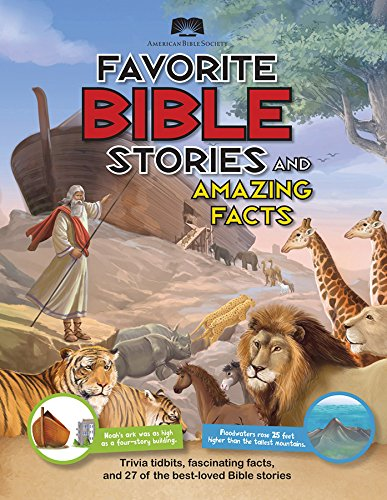 American Bible Society Favorite Bible Stories and Amazing Facts -  Paperback