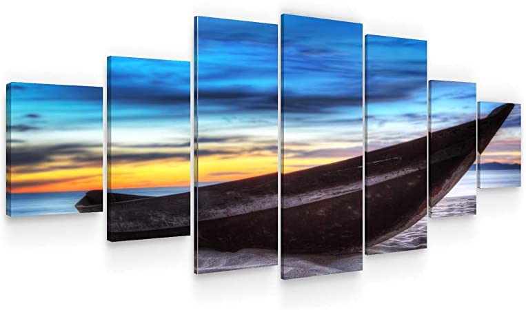 Canvas Picture Sea Beach Landscape Nature Wall Pictures XXL Living Room Art Print