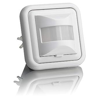 Sebson® Detector de Movimiento empotrable, Interior, LED Adecuado, Montaje en Pared,