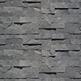 Koni Stone Citali Series Ash 7 sq. ft. Panel 6 in. x 24 in. x 0.40 in. - 0.80 in. Natural Stone