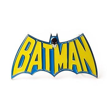 b6fd41bc390 Bioworld Merchandising - Batman boucle de ceinture Retro Logo ...
