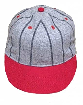 Ideal Cap Co. Pinstripe Brooklyn Style Vintage Baseball Cap Cap Circa 1910  at Amazon Men s Clothing store  ae946a5e068