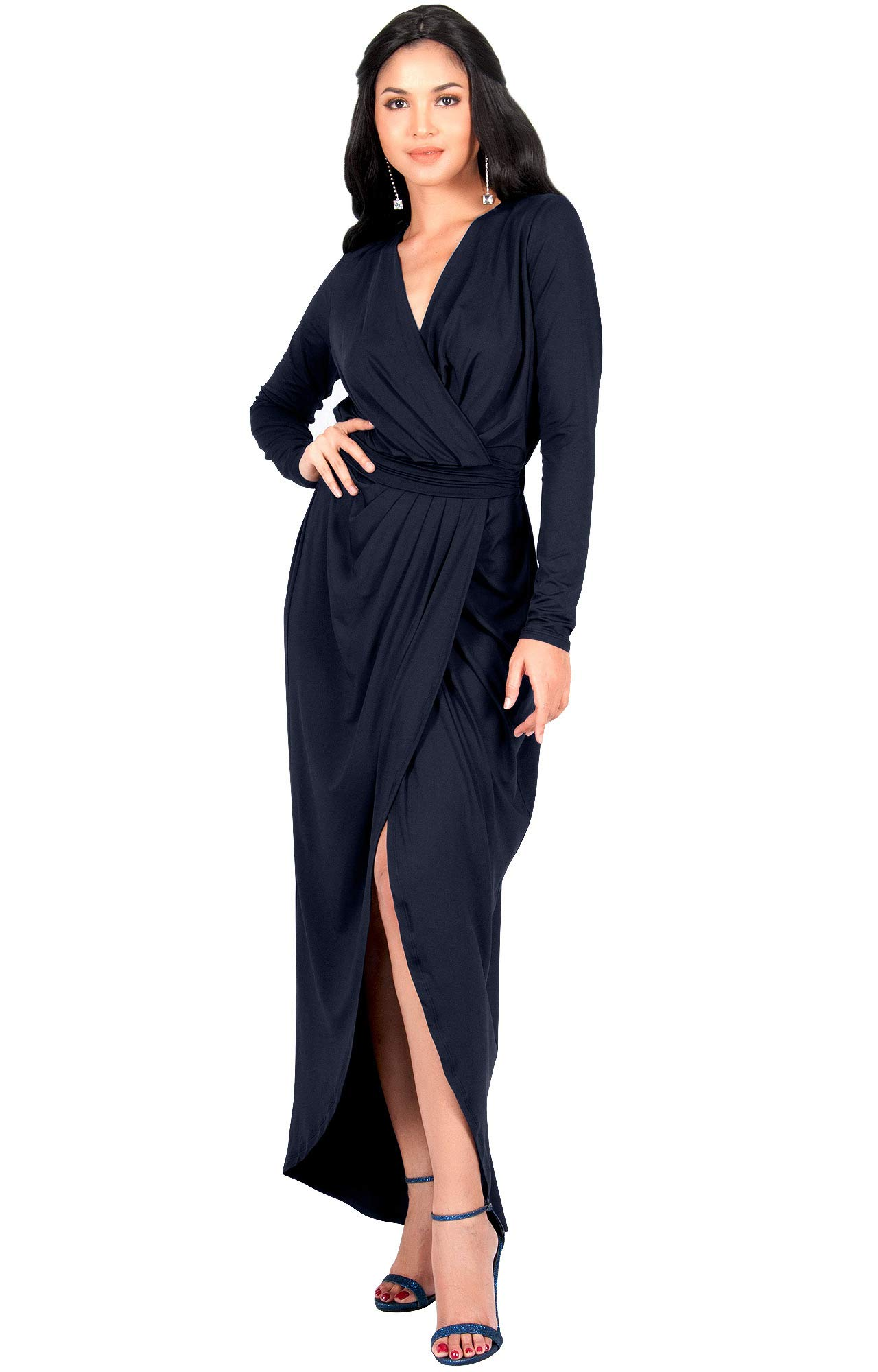 13bd63dcd09 ... Empire Waist Formal Winter Fall Cocktail Wedding Evening Gown Gowns  Maxi Dress Dresses