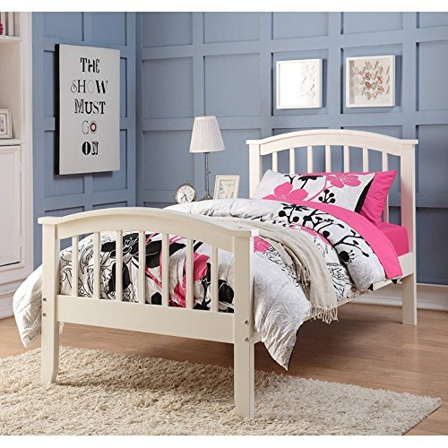 - DONCO KIDS 2014TW Series Bed, Twin, White