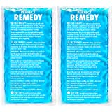 Groß Ice Pack for Injury (Set of 2) – Perfect Remedy Gel Cold Packs for Injuries, Pain Relief, Rehabilitation, Flexible Therapy for Knee, Shoulder, Back, Neck, Ankle