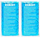Perfect Remedy Ice Packs for Injuries (Large) - 2 Flexible Hot & Cold Compress Gel Pack for Therapy …